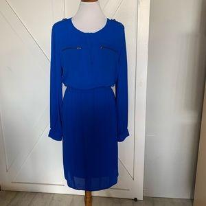 Royal blue light weight dress